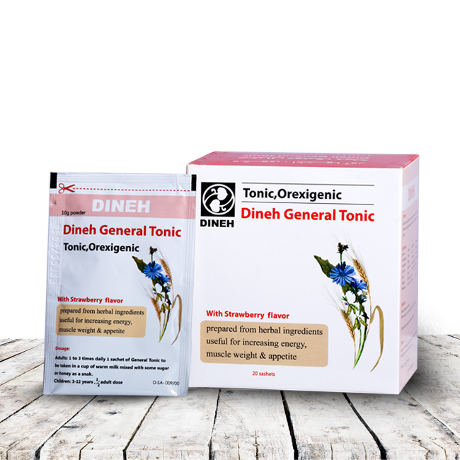 Herbal Tonic ، Orexigenic ، Herbal supplement ، Weight loss ، Nutritional supplement of children